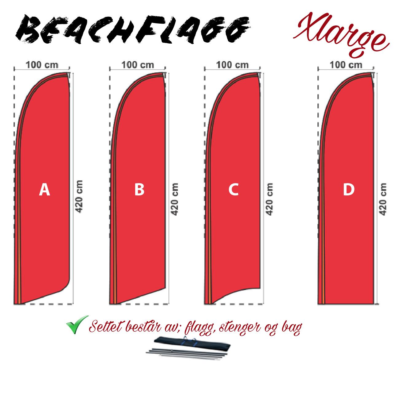 beachflagg expodisplay