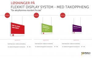 NAV - Flexikit Display System for takfeste