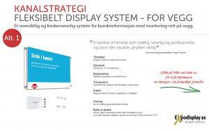 NAV Kanalstrategi - System for veggmontering