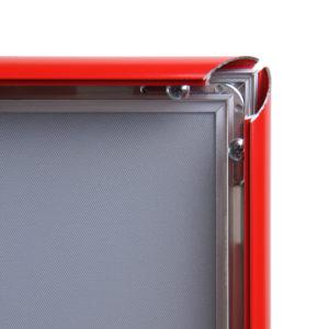 Snap frame med rett kant i RAL farge