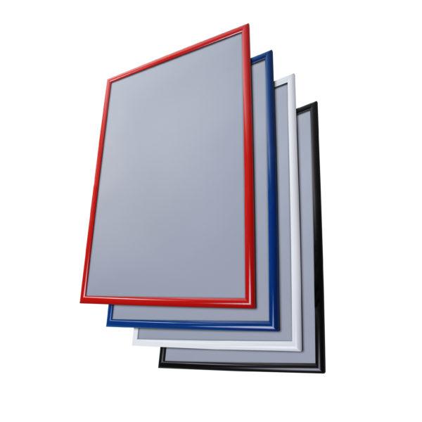 Snap frame rett kant med 4 RAL farger