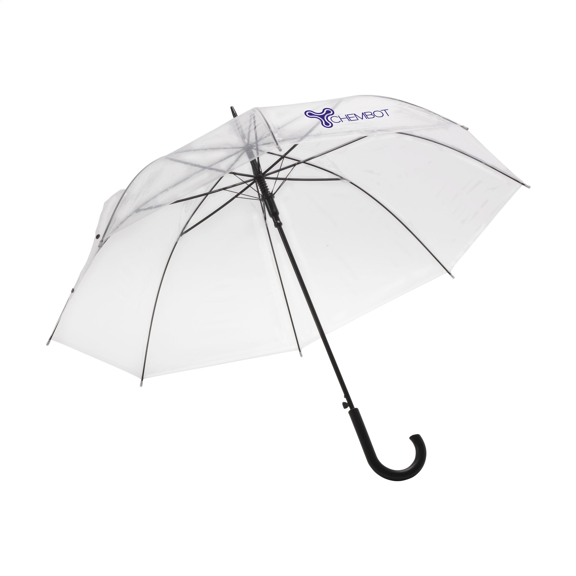 gjennomsiktig paraply