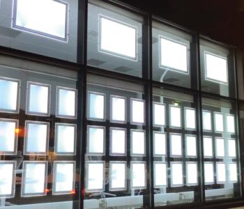 Flexikit LED Expo 100 i nye lokaler hos Eiendomsmegler1 Bodø